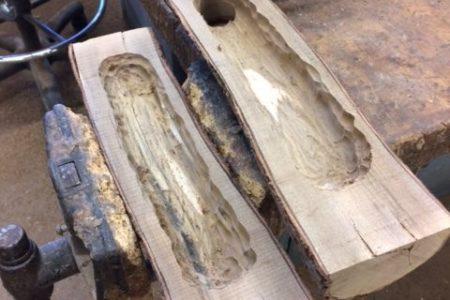 Avian carpenters get help from woodshop hobbyists!